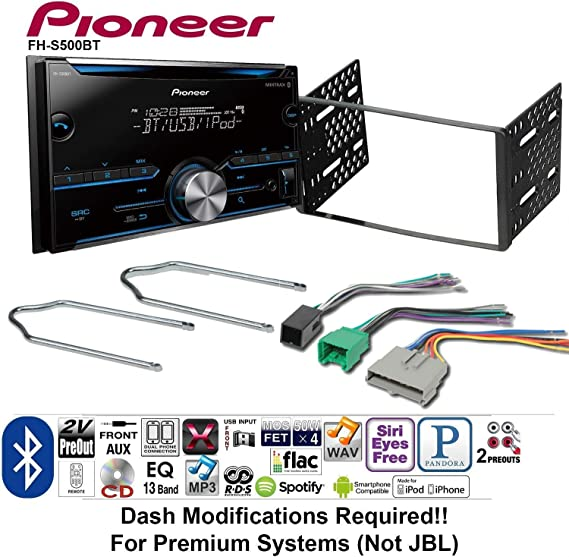 Car Radio Stereo Dash Kit Wire Harness for 1995-1997 Ford Lincoln Mercury Mazda