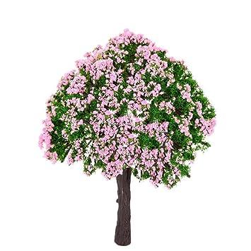 Naisicatar 2 Pcs Miniatur Fee Garten Baum Pflanze Miniatur