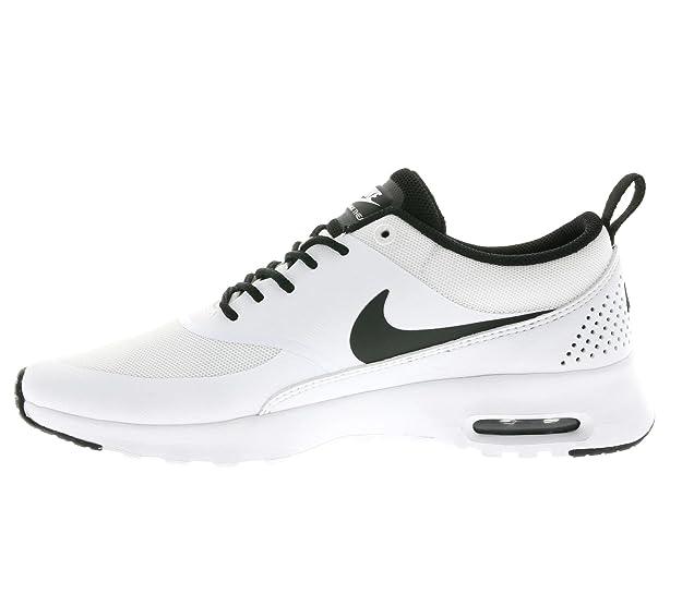 9a7c1cfb66 Nike Womens Air Max Thea White Black 599409-102 Womens US 6.5: Amazon.in:  Shoes & Handbags