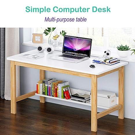 Amazon.com: Ckxzui Home Simple Computer Desk Study Desk ...