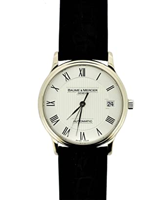7271df320e1 Image Unavailable. Image not available for. Color  Baume   Mercier Men s  8079 Classima White Gold Watch