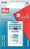 Prym 152911 Doppel-Maschinennadel Stretch 75/4.0