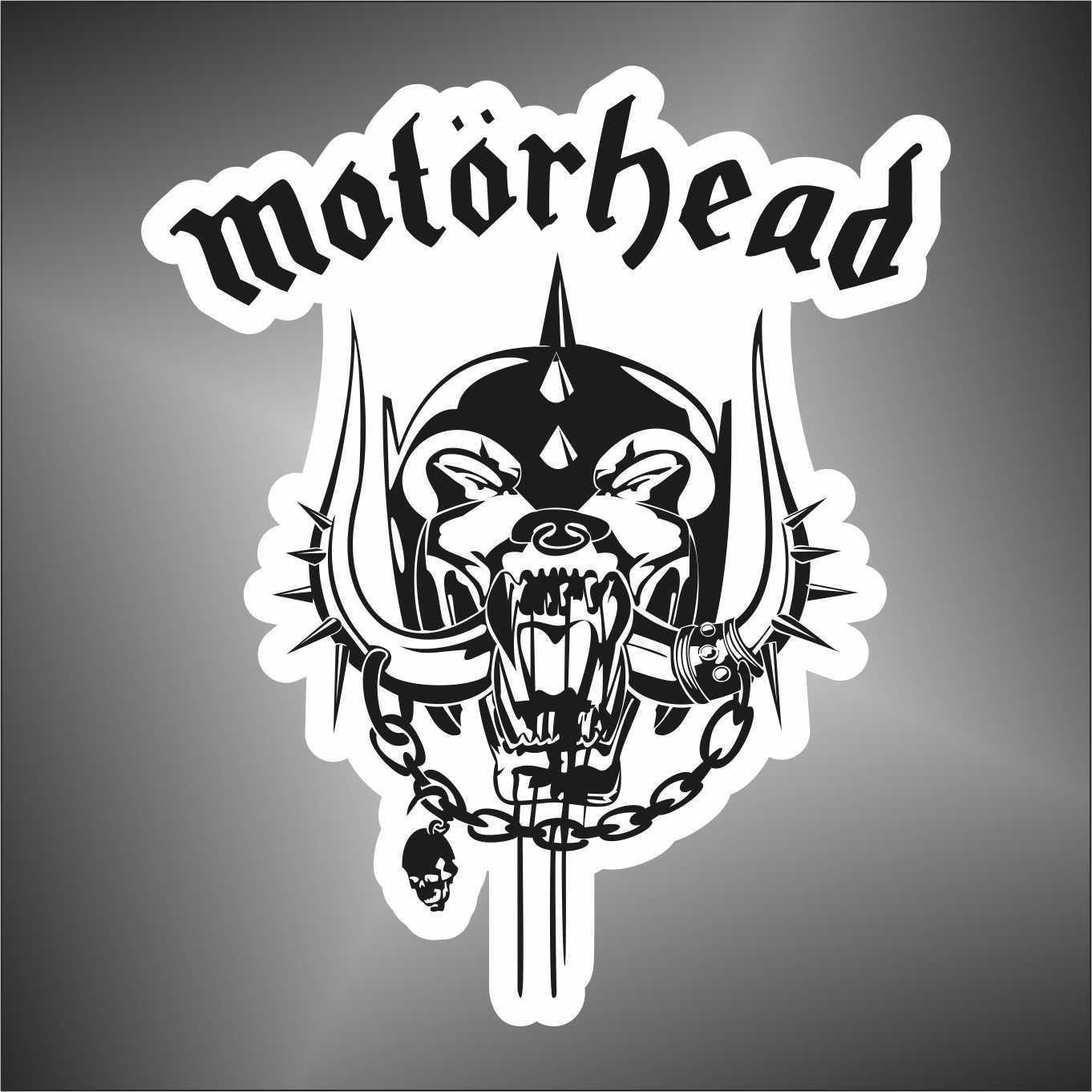 Autocollant Motorhead Hip Hop Rap Jazz Hard Rock Pop Funk