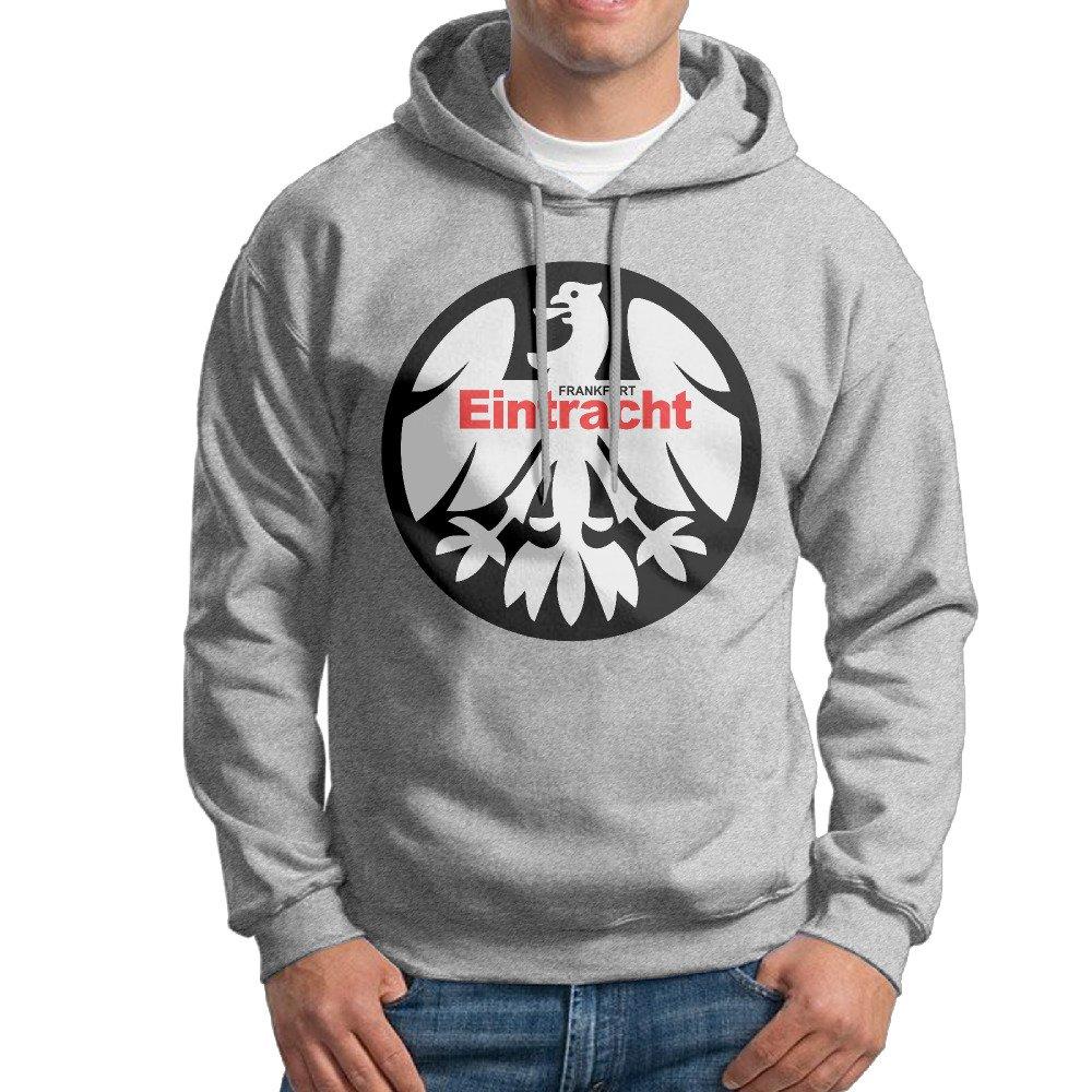 Men Eintracht Frankfurt Logo Design Causal 100/% Cotton Hoodies