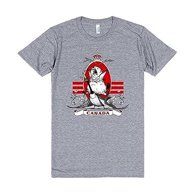 canada goose t shirt grey
