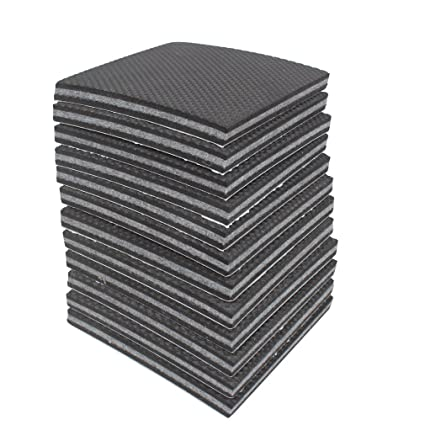 Amariver Non Slip Furniture Pads Grippers, 12 Pcs Self Adhesive Rubber Feet  With Solid Felts Pads ...