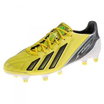 detailed look 49e20 ef4a7 adidas F50 Adizero XTRX SG Leather Yellow G65320 Size 11 UK