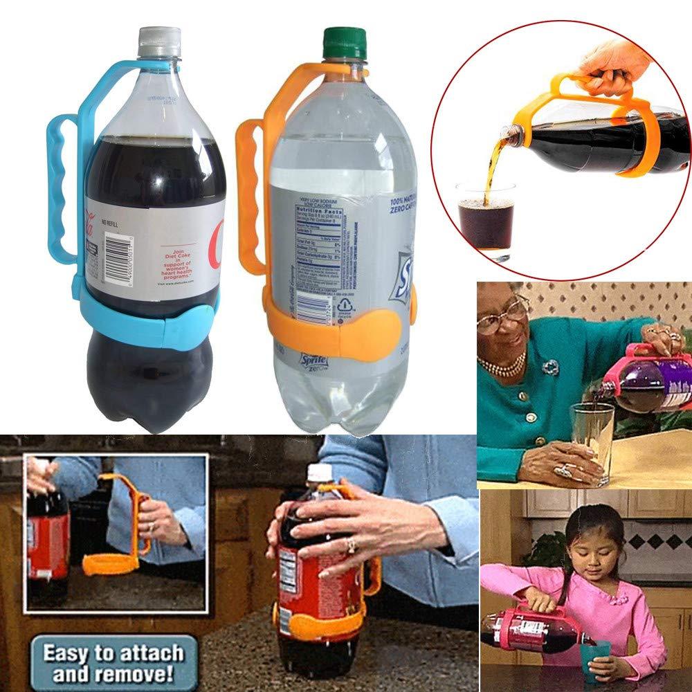 Squarex Poign/ée universelle pour bouteille de 1 et 2 litres