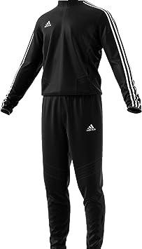 adidas Tiro19 Overall Chándal, Hombre, Black/Granite/White, 4XL ...