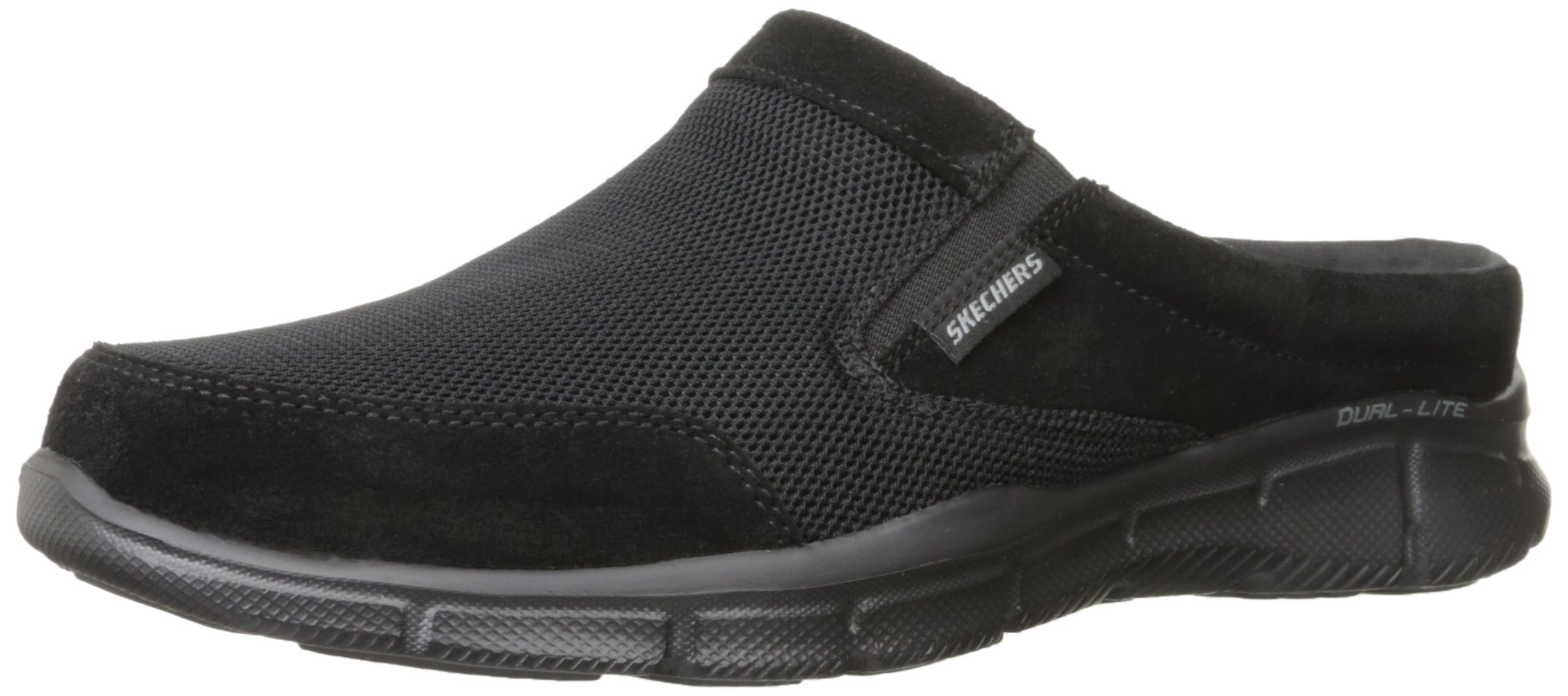 Skechers Sport Men's Equalizer Coast to Coast Mule,Black,8 M US by Skechers