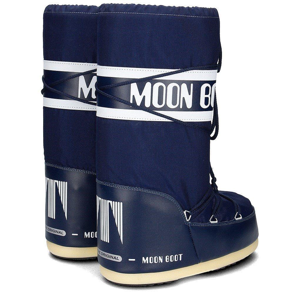 Moon Outdoor Boot Tecnica unisex Nylon, Outdoor Moon SchneeStiefel blau d8eb2c