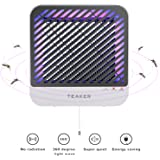 Teaker Electric Indoor Bug Zapper With Uv Led Fly Trap Light For Mosquito Killer Insect Repellant Pest Sentry In Living Room Restaurant