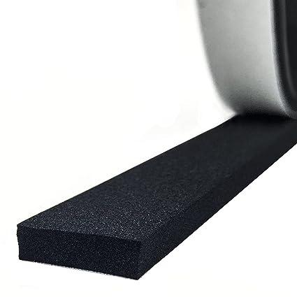 Foam Seal Tape, High Density Foam Seal Strip Self Adhesive Weather  Stripping Insulation Foam 1