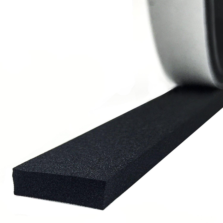 High Density Foam Seal Strip Self Adhesive Weather Stripping Foam Seal Tape