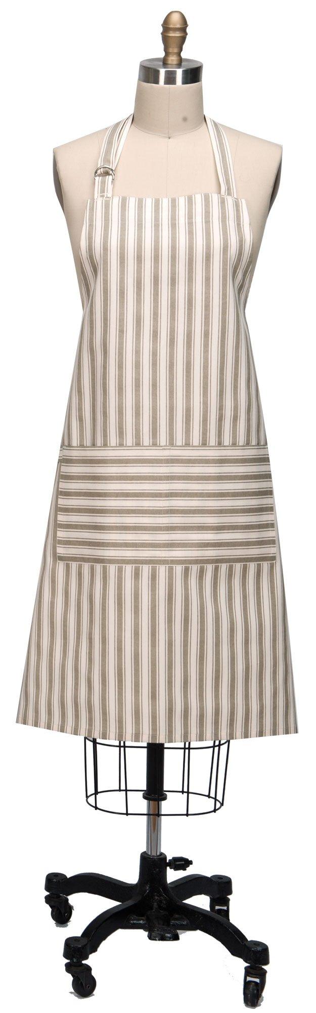 Kay Dee Designs R9291 Everyday Basics Chef Apron, Oxford Tan