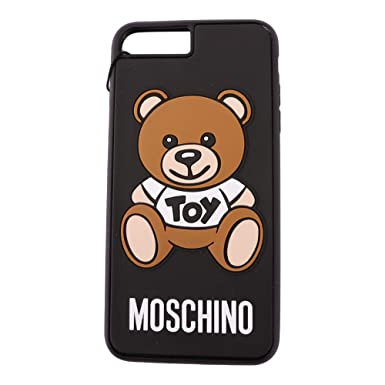 279fcc8852 Amazon.com: Moschino Women's A792283061555 Black Acrylic Cover: Clothing