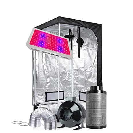 TopoGrow LED Grow Light Tent Kit Complete Package LED 600W Grow Light +36u0026quot;X36u0026quot  sc 1 st  Amazon.com & Amazon.com : TopoGrow LED Grow Light Tent Kit Complete Package LED ...