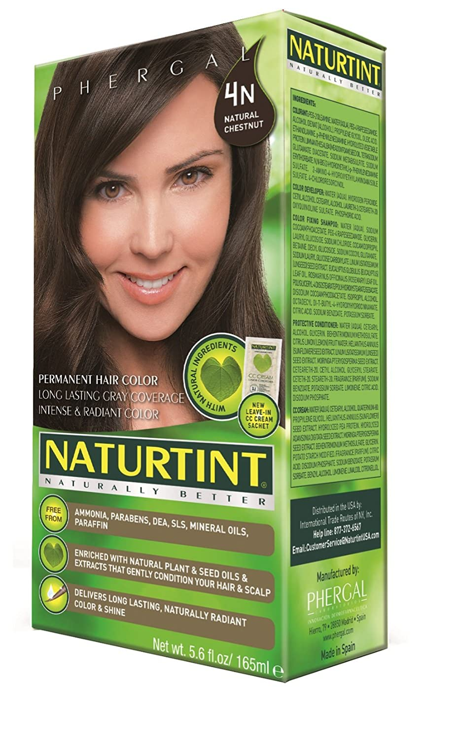 Amazon Naturtint Permanent Hair Color 4n Natural Chestnut