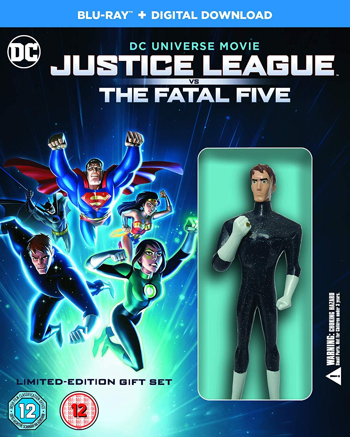 Amazon Com Justice League Fatal Five Blu Ray 2019 Movies Tv