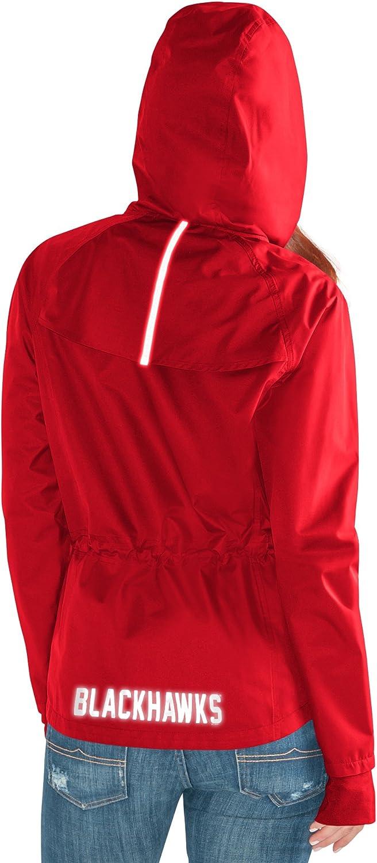 GIII For Her Adult Women Onside Kick Light Weight Full Zip Jacket