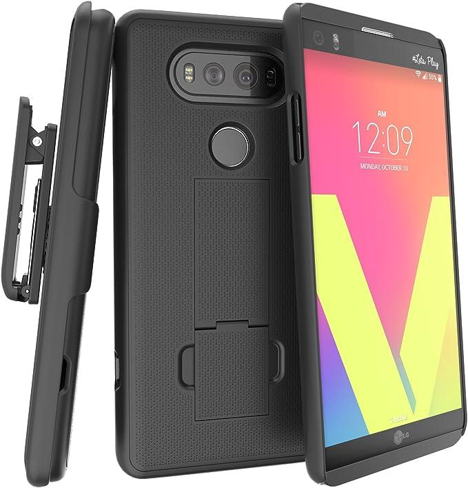 LG V20 Belt Clip Combo Case w/ClikLock Holster: Amazon.es: Electrónica