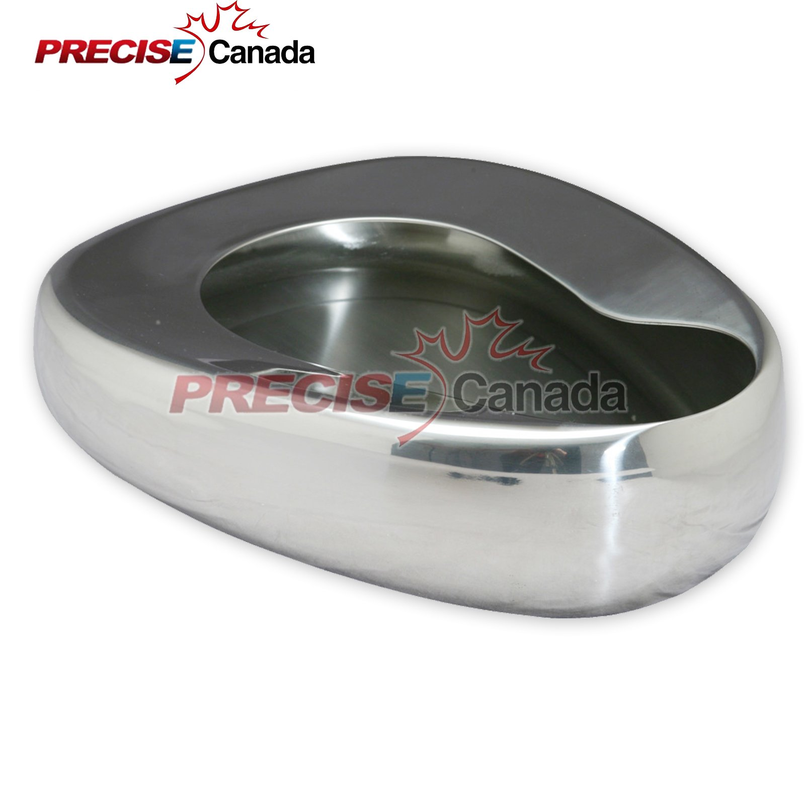 PC STAINLESS STEEL BED PANS - ADULT: 14'' X 11 3/8'' QUALITY BED PANS