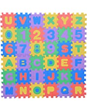 36Pcs Infant Soft EVA Foam Play Puzzle Mat Numbers & Letters Baby Children Kids Playing Crawling Non-Toxic Pad Toys