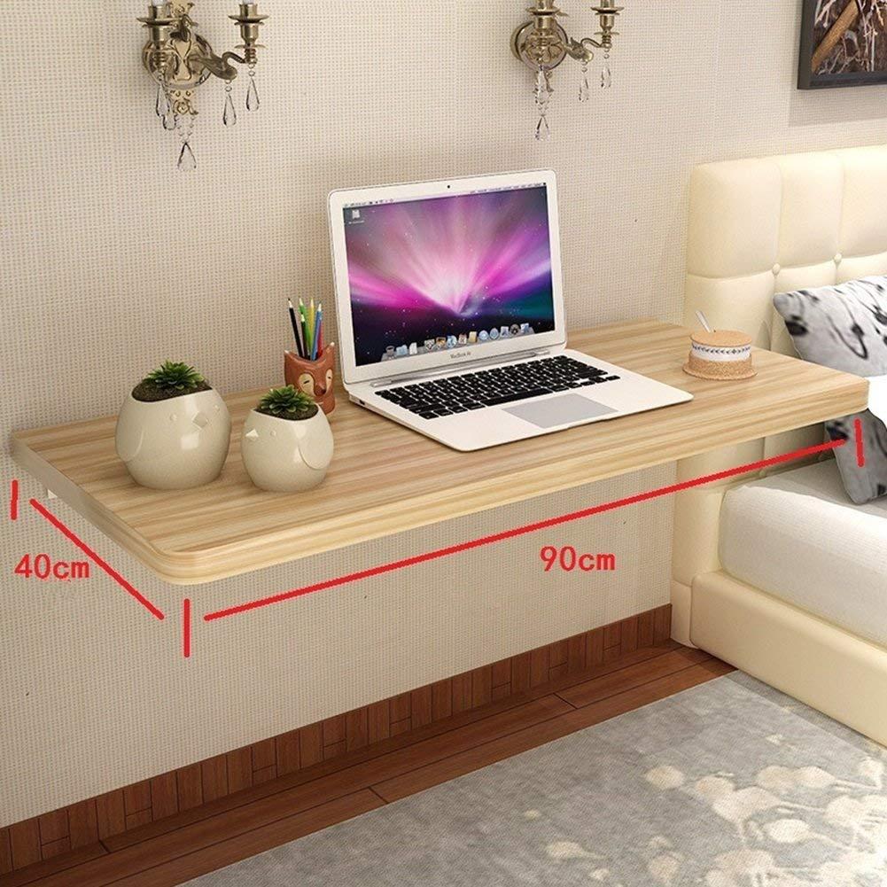 Web oficial 90 × 40cm 40cm 40cm AFDK Mesa de parojo abatible, mesa de comedor de cocina plegable, mesa de madera maciza para niños, Color de madera,100 × 40cm  en promociones de estadios