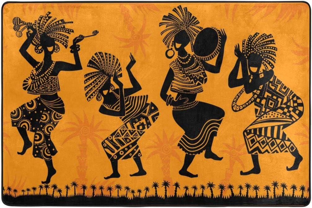 Dormitorio 50 x 80 cm Alfombra de Suelo para Yoga Naanle Africa 50 x 80 cm Alfombra Antideslizante para Sala de Estar Comedor 1.7 x 2.6 Cocina