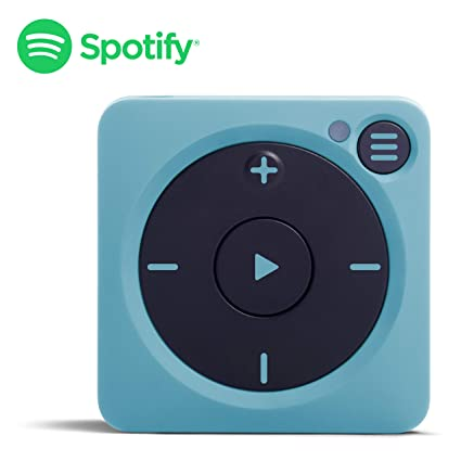 Mighty Vibe Spotify Music Player - Bluetooth & Wired Headphones - 8GB  Storage - No Phone Needed - Gully Blue