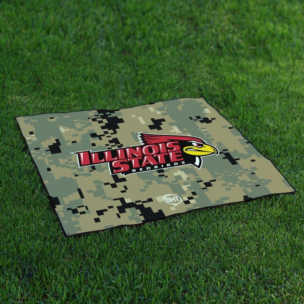 Illinois State RedbirdsテールゲートBlanket操作Hat Trick Oht Camo B0711JQGNP
