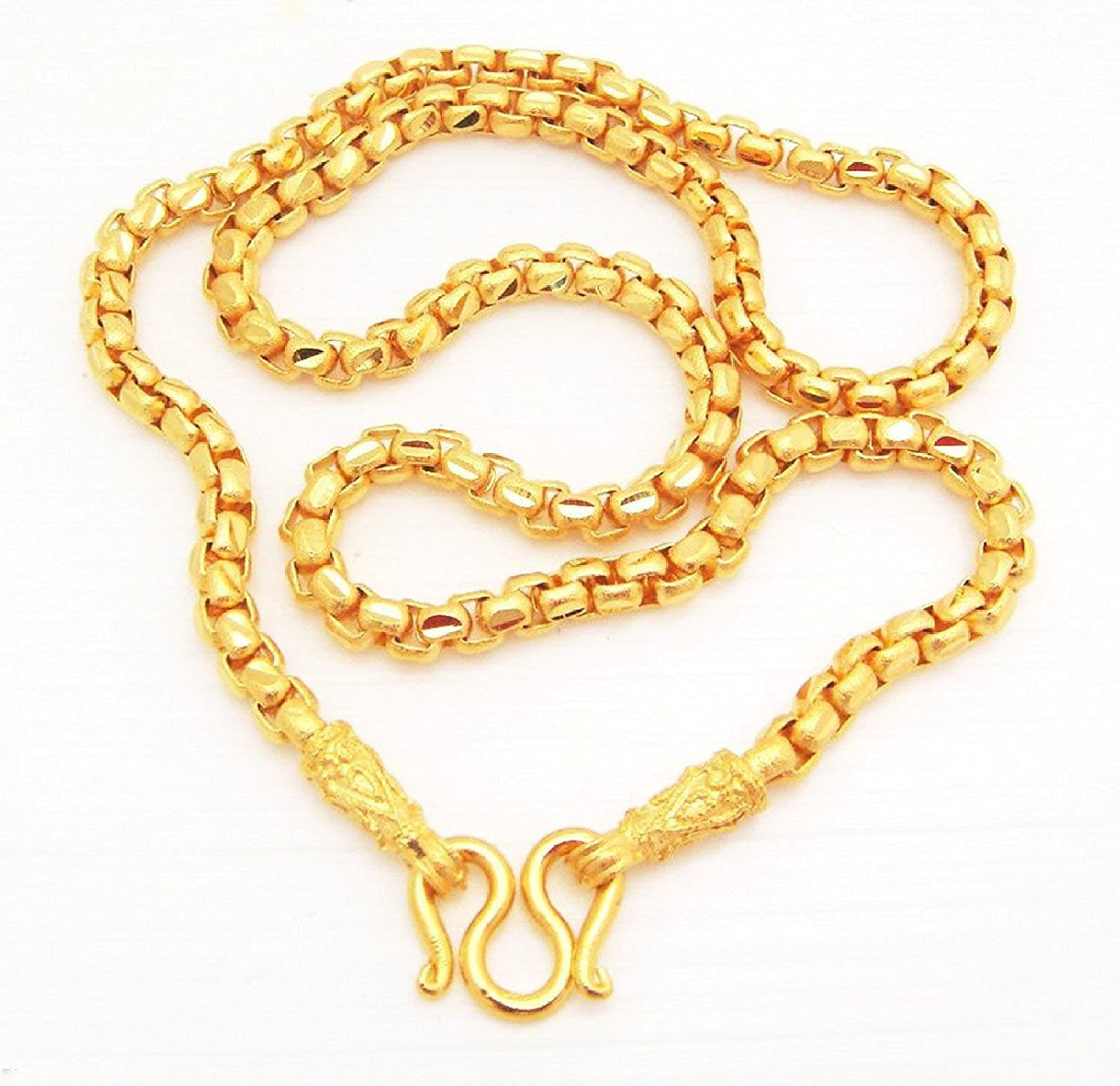 premium cray clothing gold spaghetti chains straps kickoff top chain product line scal plated
