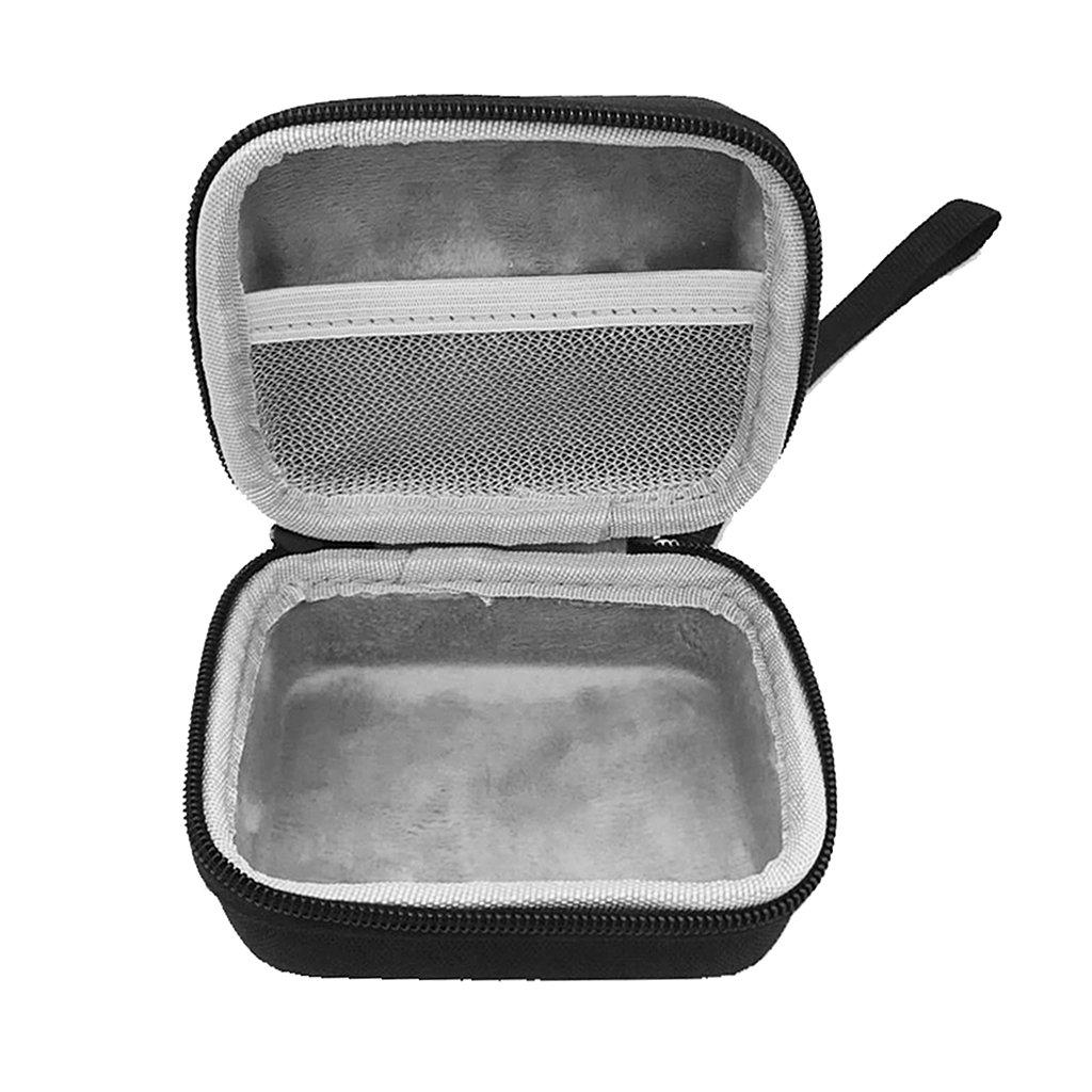 10 cm x 9 cm x 5 cm GROOMY Estuche r/ígido con Cremallera EVA port/átil Bolsa de Almacenamiento con Estuche r/ígido de Viaje para JBL Go 1//2 Altavoz Bluetooth Negro