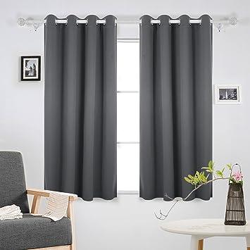 Deconovo Super Soft Thermal Insulated Window Treatment Bedroom ...