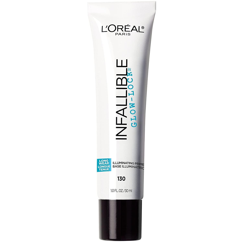 L'Oréal Paris Makeup Infallible Pro Glow-Lock Longwear Illuminating Face Primer, 1 Ounce