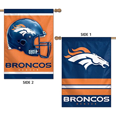 Image Unavailable. Image not available for. Color  WinCraft Denver Broncos  Two Sided House Flag 145964f4c
