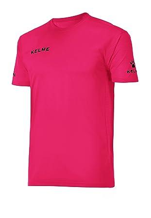 KELME 78190 Camiseta, Hombre, Fucsia/Negro, XXL