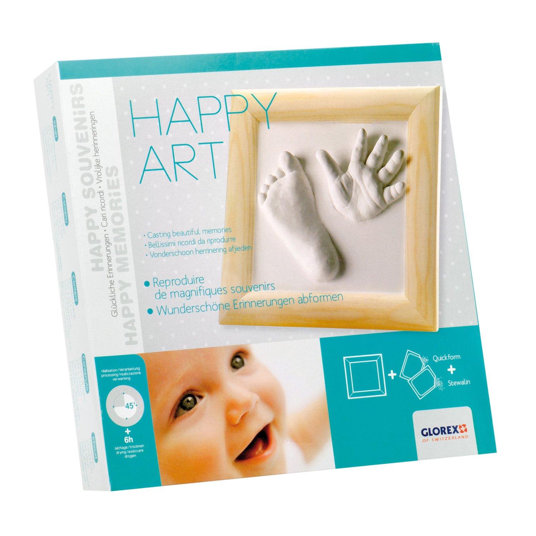 Glorex GmbH 6 2704 013 Geschenkpackung Happy Art Kinderzimmerdekoration