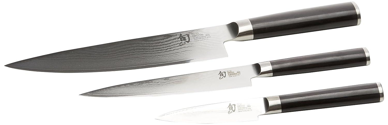 Kai DMS.300 Shun Damas Set de 3 Couteaux Japonais B000139H82