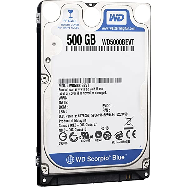 WD Scorpio Blue 320GB 5400 RPM SATA Mobile Internal Hard Drive 8 MB,2.5 inch,Sony Playstation PS3 Compatible