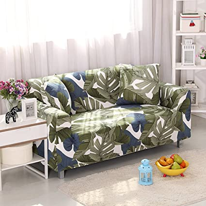 Superbe KKONION Tropical Leaves Print Modern Sofa Cover All Inclusive  Slip Resistant Cheap Sofa Towel