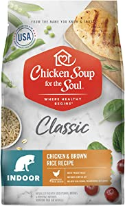 Chicken Soup for the Soul Indoor Dry Cat Food- Chicken & Brown Rice Recipe