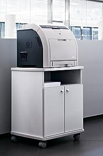 Mesa fotocopiadora e Impresora ber-copian60 Blanco Roto de ...
