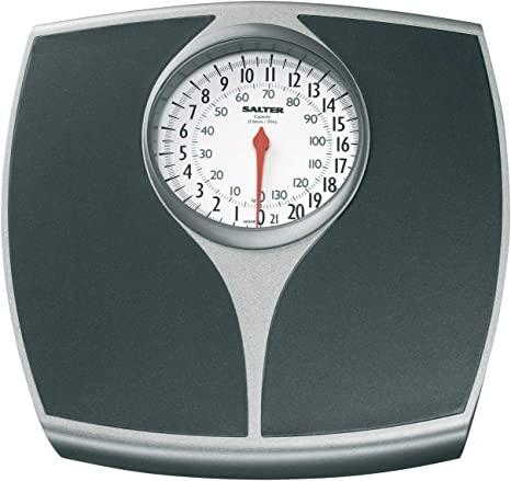Amazon Com Salter Speedo Mechanical Scale 148bksvdr Black Silver Health Personal Care