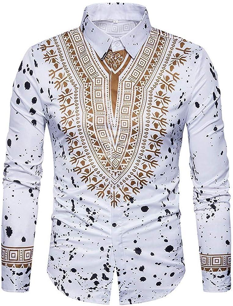 RomantcMen Cotton Long Sleeves Printing Pullover Sweatshirt