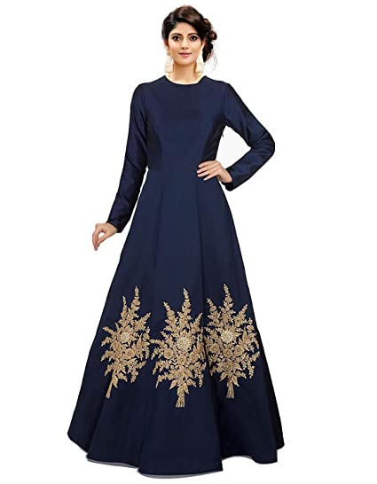 Buy Royal Export Women S A Line Knee Long Dress At Amazon In