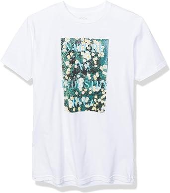 RVCA Photosynthesis Short Sleeve Crew Neck T-Shirt Camiseta para Hombre: Amazon.es: Ropa y accesorios