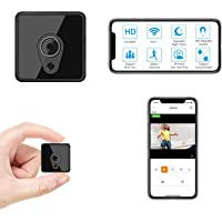 Jayol Mini WiFi Camera Wireless, HD 1080P Small Camera Live Streaming, Small Security Camera WiFi Camera with Night…