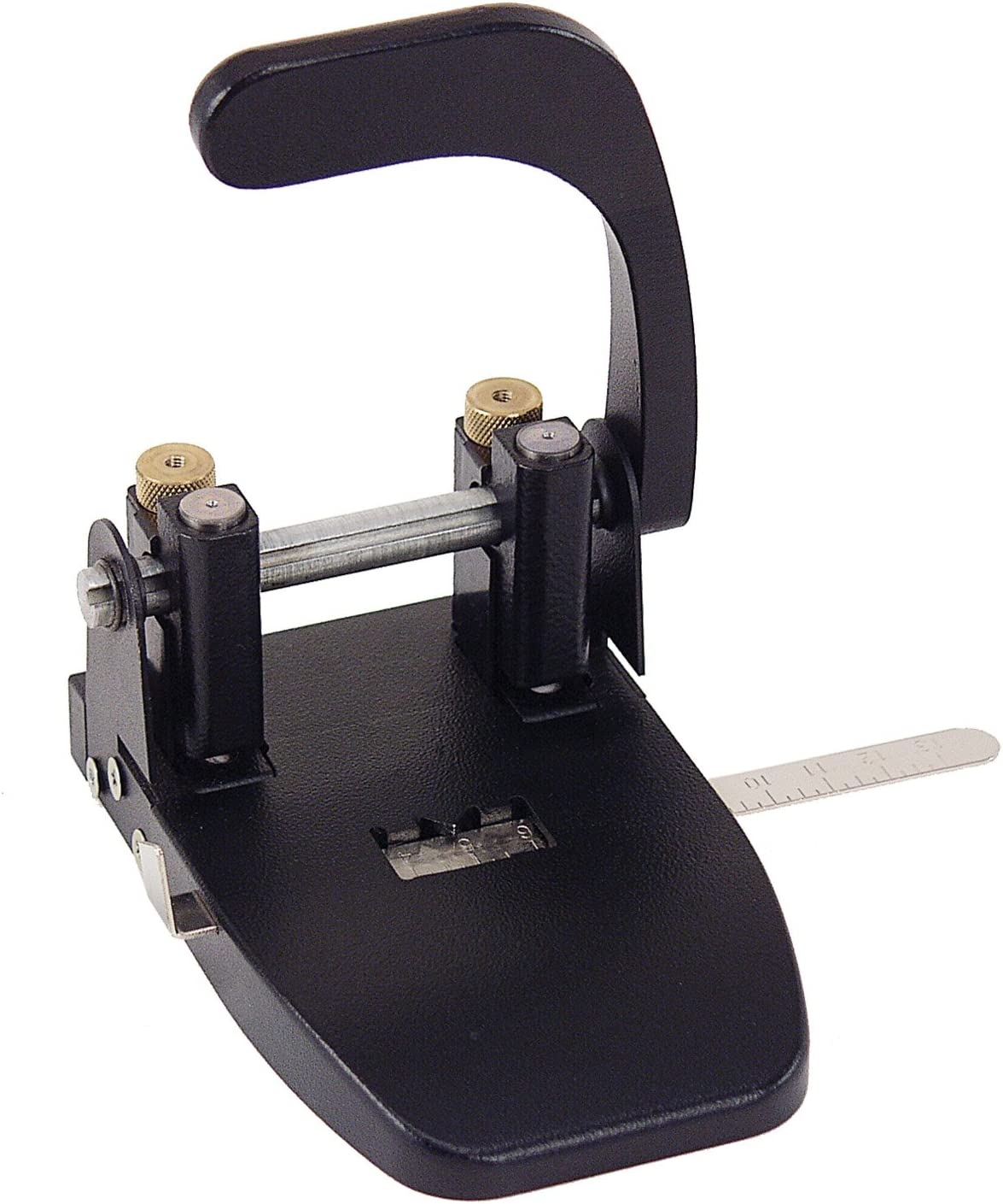Officemate Heavy Duty 2 Hole Punch with Lever Handle, 40 Sheet Capacity, Black (90072)