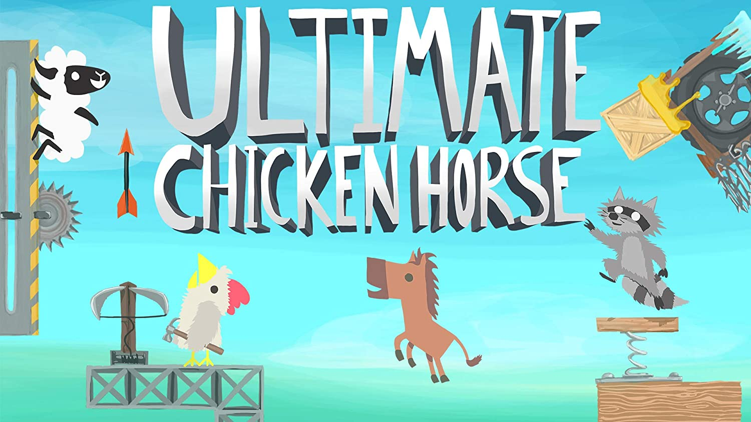 Amazon.com: Ultimate Chicken Horse - Nintendo Switch [Digital Code]: Video  Games